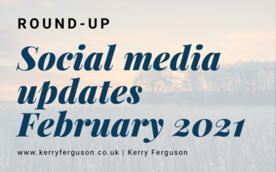 Social Media Updates: February Round-Up