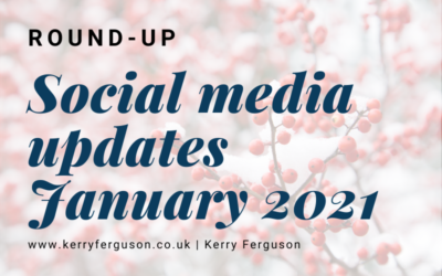Social Media Updates: January Round-Up