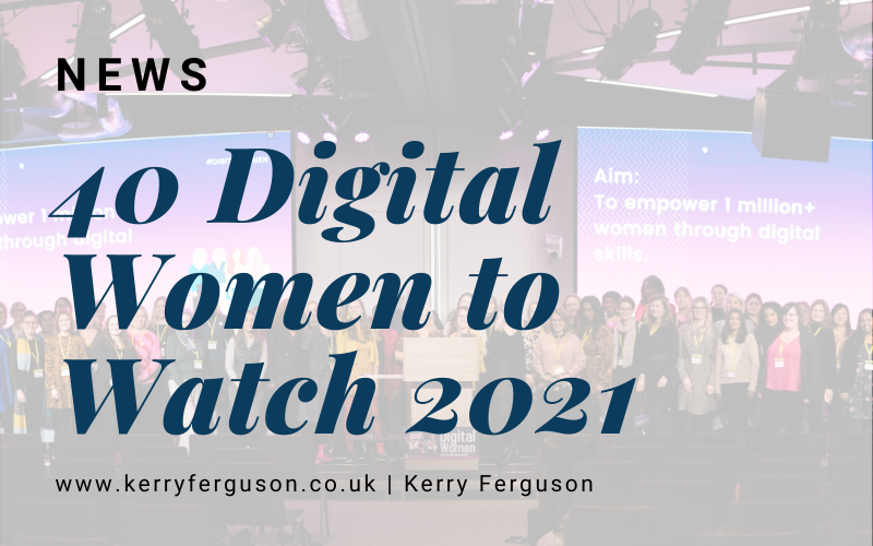 40 Digital Women to Watch in 2021